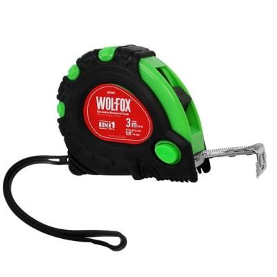 Cinta Métrica Verde (wincha) Flexómetro Bimetal 3mts WF9491 Wolfox