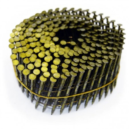 Clavo Rollo 2-1/2pulg Calibre 12 30 Rollos Toolcraft Tc5328