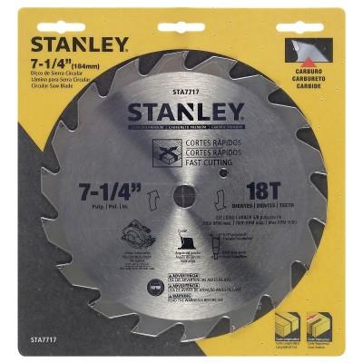 Disco de sierra circular 7-1/4 X 18D STANLEY