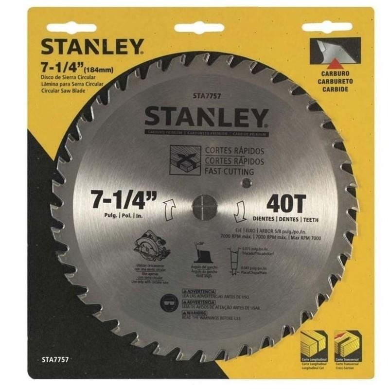Disco de sierra circular 7-1/4 X 40D