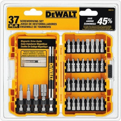 SET para atornilladores 37 PIEZAS DW2176 Dewalt