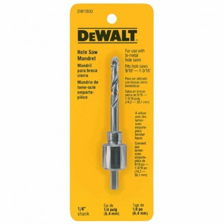 "Mandrel Sierras Copa 7/16 (1-1/4"" to 6"") DEWALT"