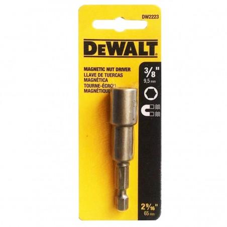 """Dado Hexagonal  3/8"""" Punta Atornillar Magnetic DW2223 Dewalt"""