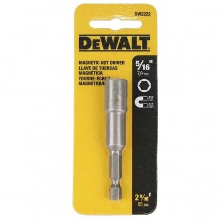 """Dado Hexagonal 5/16"""" Punta Atornillar Magnetic DW2222  Z Dewalt"""
