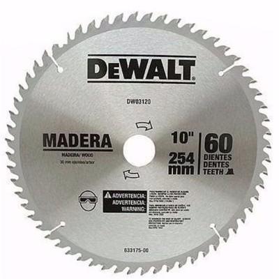 """Disco de sierra 10"""" 60..."""