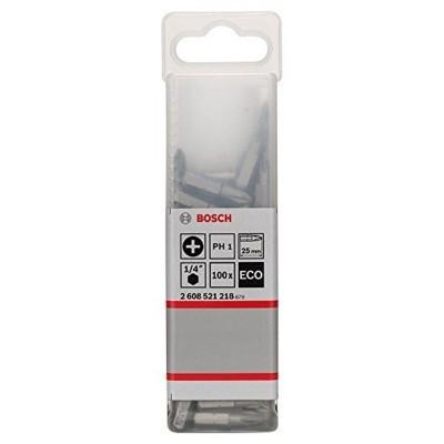 Punta Phillps 1 (PH1) ECO Extra Hard  25mm Caja Plástica X 100 Unid