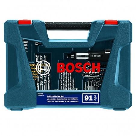 Set de brocas y Puntas X-line 91 piezas Bosch