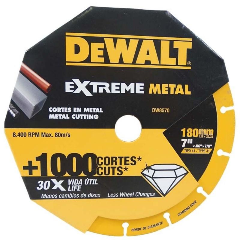 Disco Diamantado Extreme Corte Metal 7 DW8570 DeWalt
