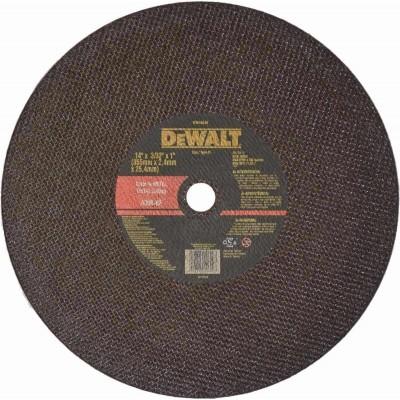 """Disco para tronzadora 14"""" X 3/32"""" X 1"""" DW44640 Dewalt"""