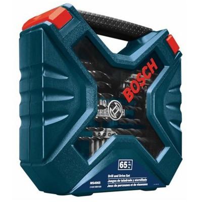 Set de brocas y Puntas X-line 65 piezas Bosch