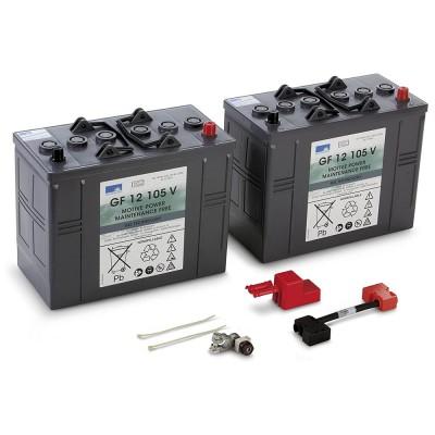 Set conjunto de baterías...