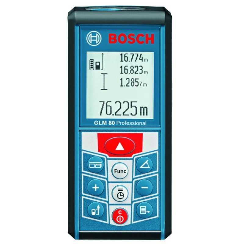 Medidor de distancia laser de hasta 80 metros GLM 80