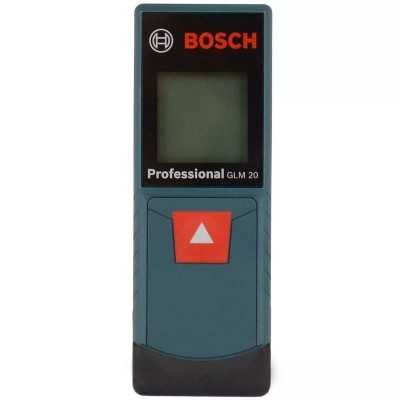 Medidor de distancia laser de hasta 20 metros GLM 20