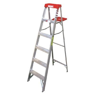 Escalera tijera de aluminio...