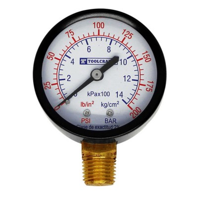 Manómetro 0-200 PSI