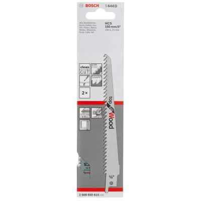 Cuchila para Sierra Sable S 644 D MA-DELGADA 6 BOSCH