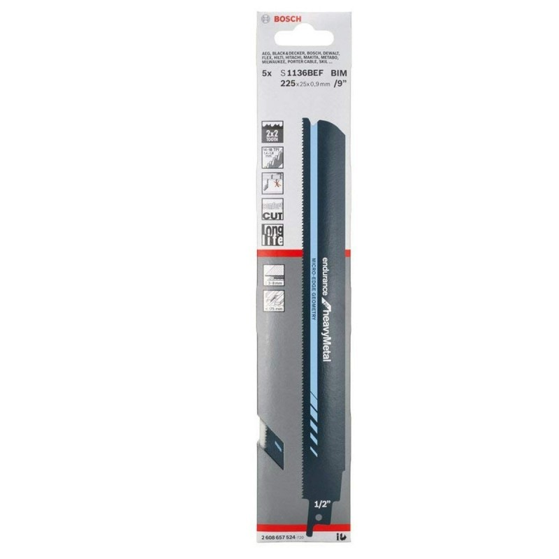 Cuchila para Sierra Sable  S1136 BEF 3-8mm ENDURANCE