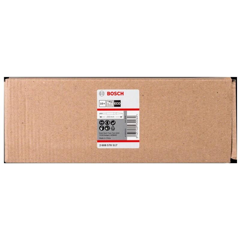 Cincel SDS-Plus Punta Eco 250 mm Caja 10 Unidades Bosch