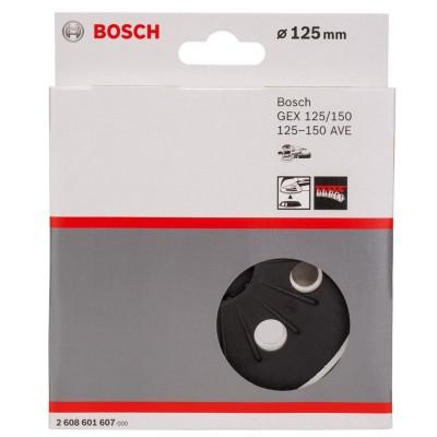 Plato Velcro 5 125mm (8 huecos) for GEX 125-150 AVE Bosch