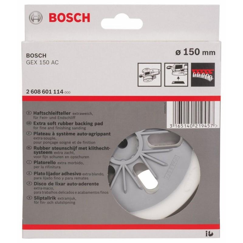 Porta Lijador Blando Extra Suave (GEX 150) 6 150mm Bosch