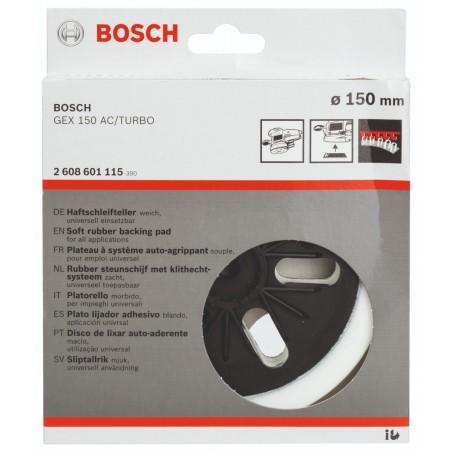 Plato Lijador Blando (GEX 150) 6 150mm Bosch