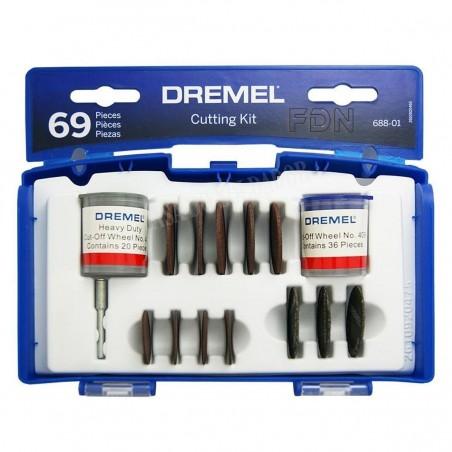 kit de 69 discos de corte Dremel 688