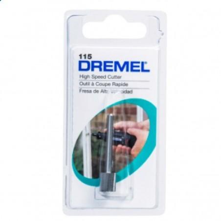 Fresa de alta velocidad cilindrica  5/16 Dremel 115
