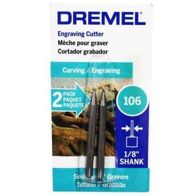 Fresa para grabado redonda 1/16 Dremel 106