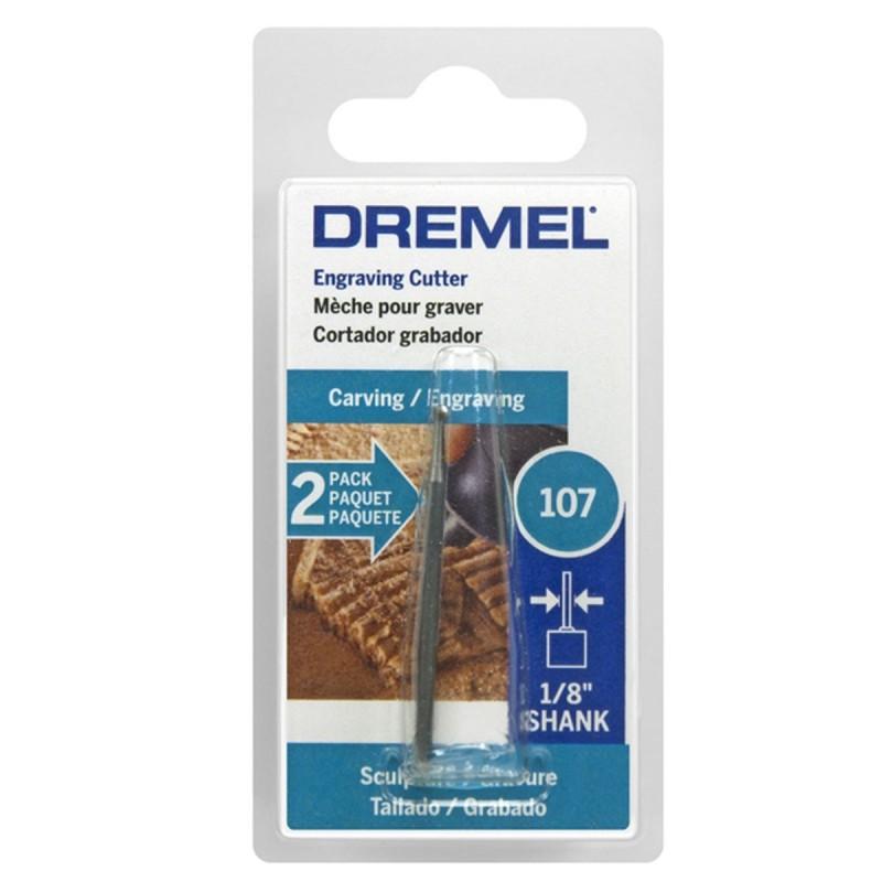 Fresa para grabado redonda 3/32 Dremel 107