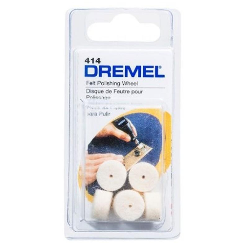 Disco de pulir 1/26 Unid Dremel 414