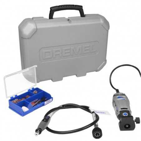 Minitorno DREMEL 3000 KIT 30 accesorios + 2 aditamientos
