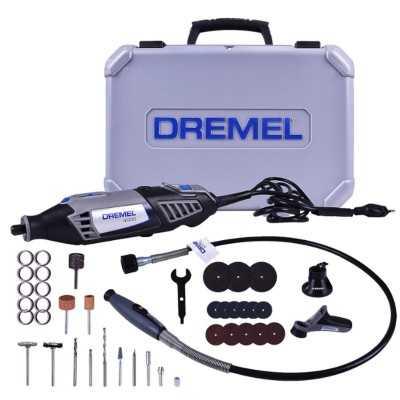 Minitorno DREMEL 4000 KIT 36 accesorios + 3 aditamientos