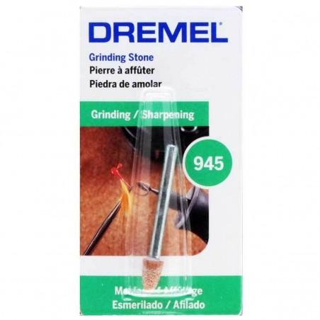 Punta montada de óxido de aluminio 3/16 Dremel 945