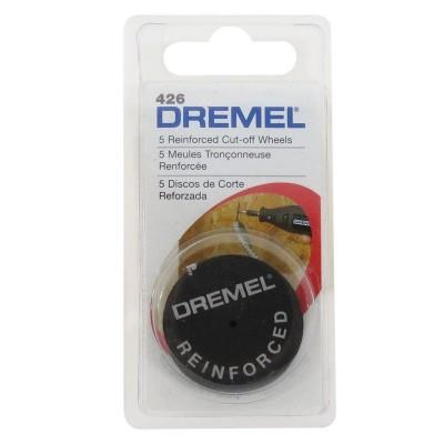 Disco de corte reforzado 1-1/4 5 Unid Dremel 426