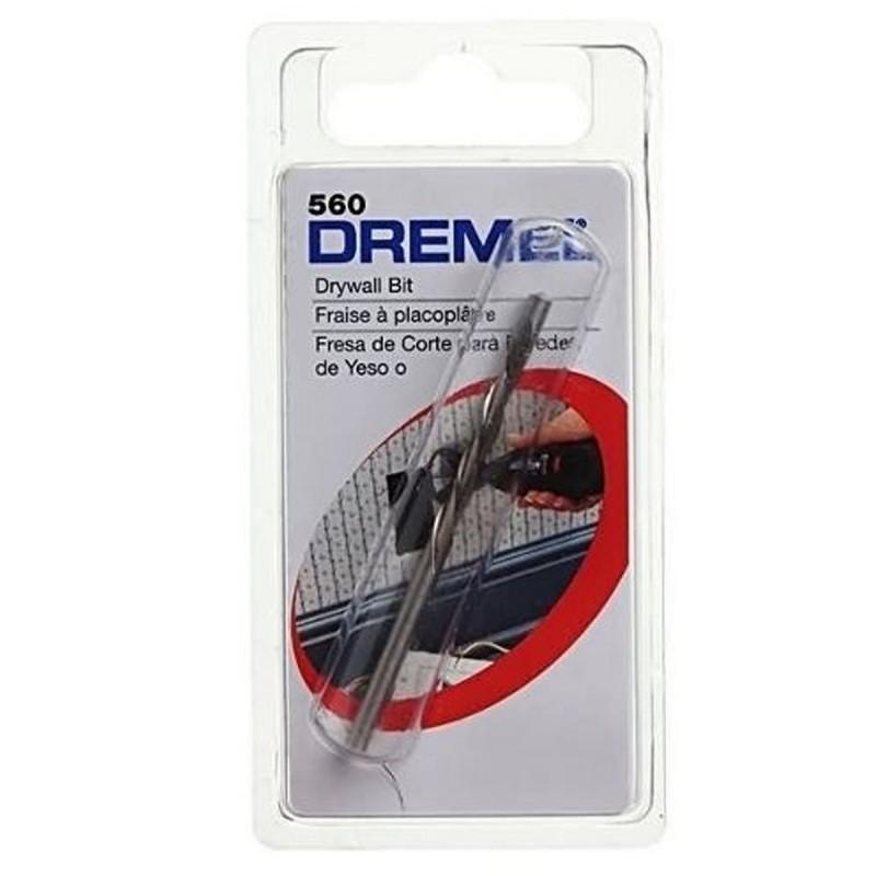 Broca de corte para yeso (Drywall) Dremel 560