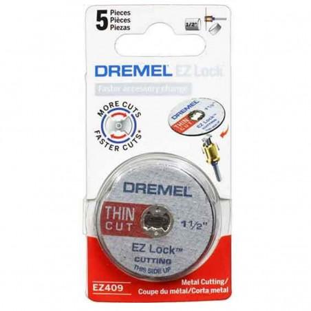 Kit de discos de corte de metal 38mm Dremel EZ409