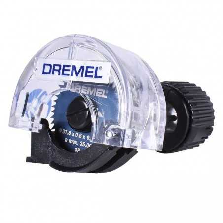 "Aditamento Para Minitorno Mini Sierra Circular 1 1/4 Dremel 670"""