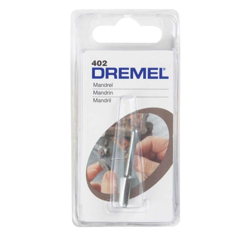 Vástago para disco de lijar-Cortar Dremel 402