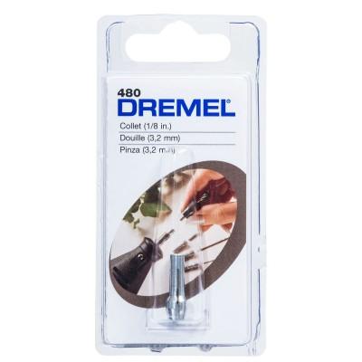 Pinza de sujección 1/8 Dremel 480