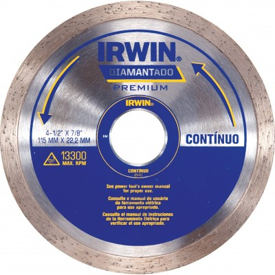 """Discos Diamantado Continuo 115mm (4.1/2) - Continuo"""""""
