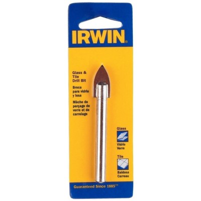 "Broca para Vidrio y Cerámica 6.5 x 65mm (1/4"") IW5584 Irwin"