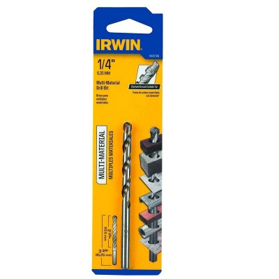 "Broca Multi-Material 1/4"" x 2"" x 4"" 4935108 Irwin"