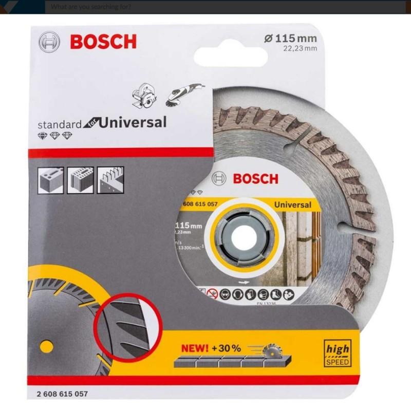 """Disco Professional""""  Universal Segmentado Construccion + Metal 4-1/2"""""""