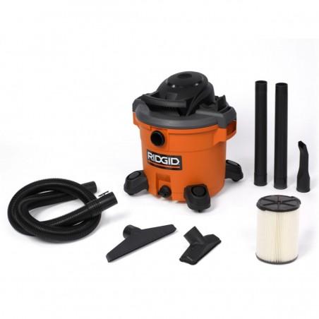 Aspiradora Seco / Humedo 12.0 Galones / 5 Hp Ridgid Wd1270ex