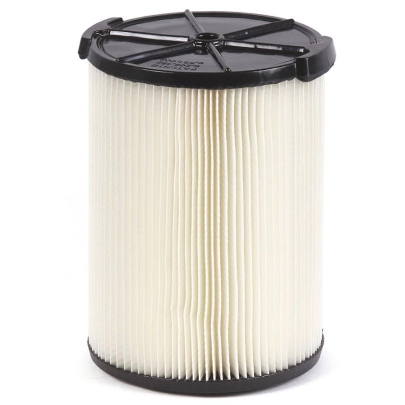 Filtro de papel plegado monocapa para la suciedad de todos los días VF4000 6 gal - 16 gal.