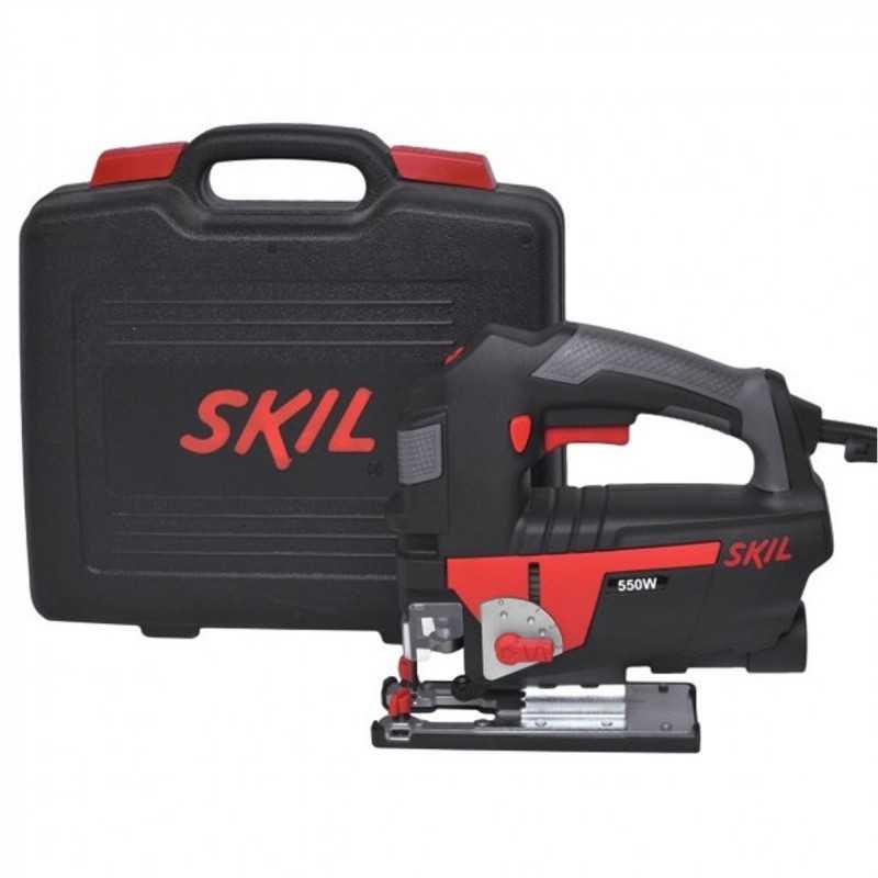 Sierra caladora 550W - VVR. maleta plastica Guia SKIL 4550