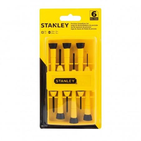 Juego 6 Destornilladores Precision STANLEY 66-052