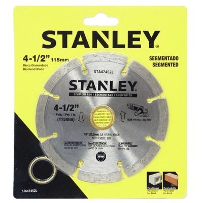 Disco diamantado 4-1/2 segmentado STANLEY